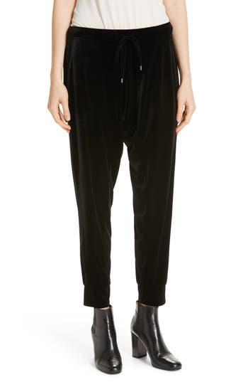 Eileen Fisher Crop Velvet Jogger Pants