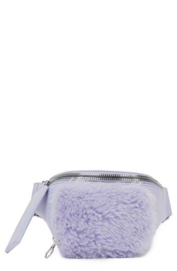 Kara Leather & Wool Bum Bag