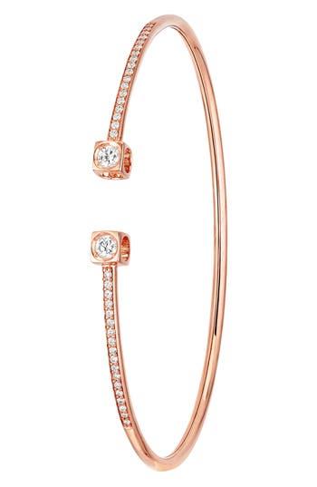 Dinh Van Le Cube Diamant Large 18K Gold Flex Bracelet