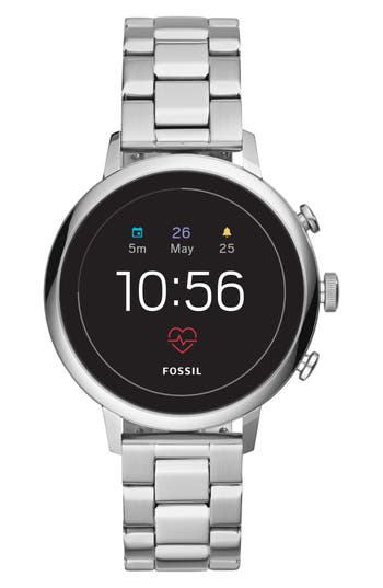 Fossil Q Venture HR Bracelet Watch, 40mm