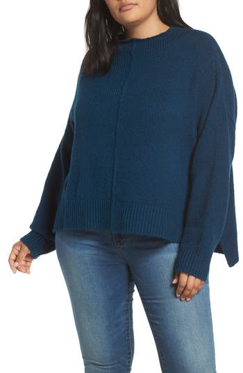 Leith Side Slit Sweater