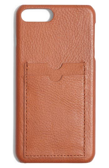 Madewell Card Slot Leather iPhone 6/7/8 Plus Case