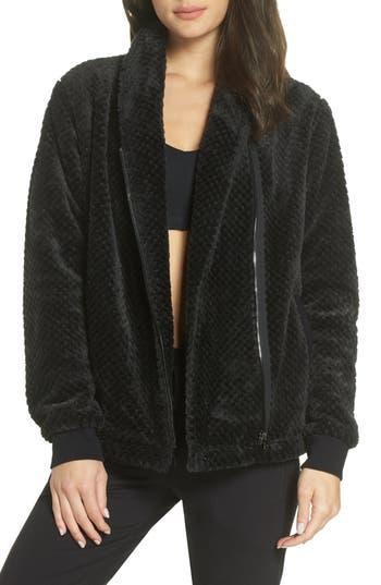 Zella Diamond Fleece Jacket