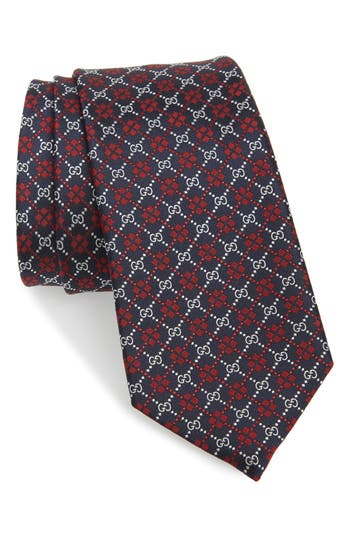 Gucci Diamond GG Silk Tie