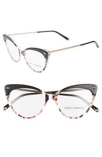 Dolce&Gabbana 52mm Cat Eye Optical Glasses