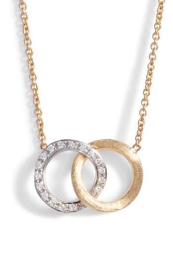 Marco Bicego Delicati Pavé Diamond Pendant Necklace
