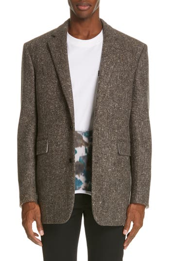 CALVIN KLEIN 205W39NYC Tweed Wool Jacket