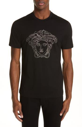 Versace Beaded Medusa T-Shirt