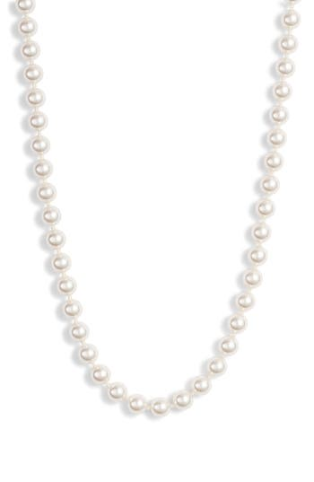 Nadri Short Strand Pearl Necklace