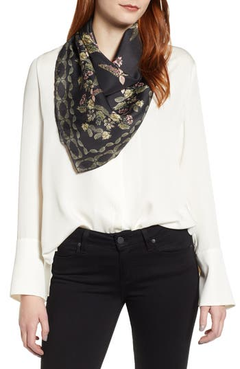Ted Baker London Pirroutte Square Silk Scarf