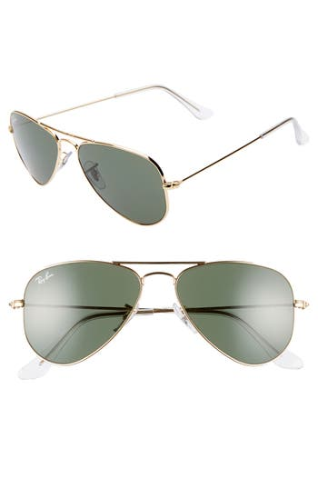 Ray-Ban 52mm Extra Small Aviator Sunglasses