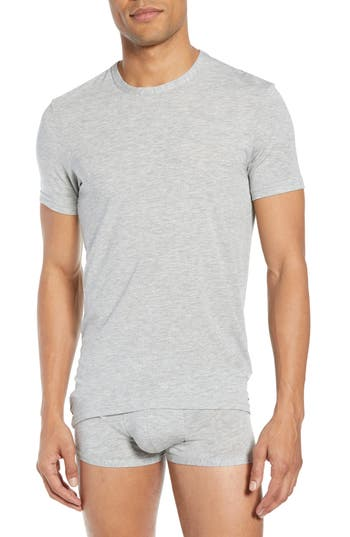 Calvin Klein Ultrasoft Stretch Modal Blend Crewneck T-Shirt