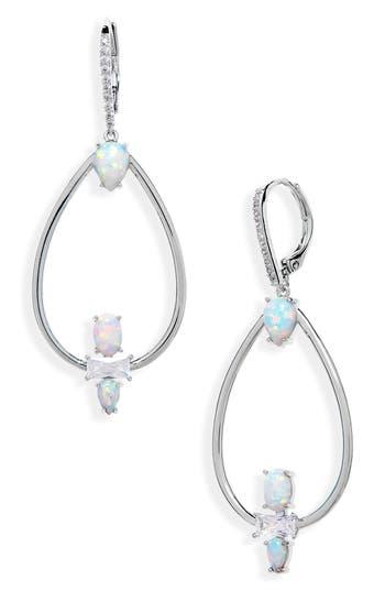 Nordstrom Stone & Crystal Drop Earrings