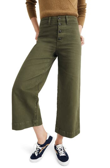 Madewell Emmett Crop Wide Leg Pants