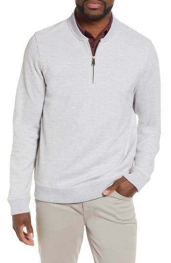 Nordstrom Men's Shop Quarter Zip Pullover