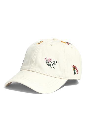 Madewell Botanical Embroidered Baseball Cap