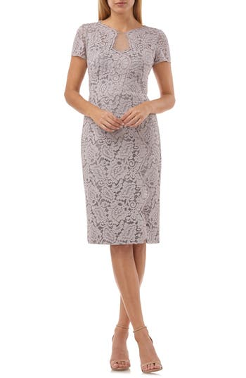 JS Collections Lace Cocktail Dress