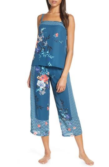 Flora Nikrooz Ariana Satin Crop Pajamas