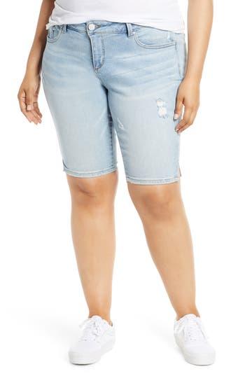 SLINK Jeans Denim Shorts (Sabrina) (Plus Size)
