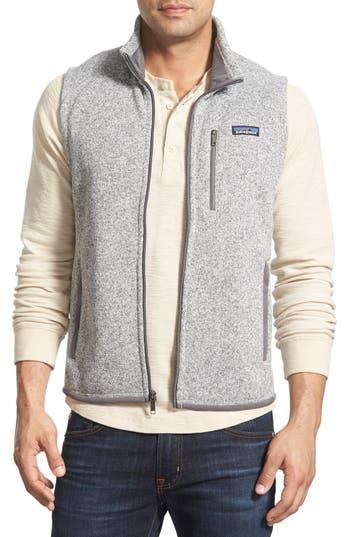 Patagonia 'Better Sweater' Zip Front Vest