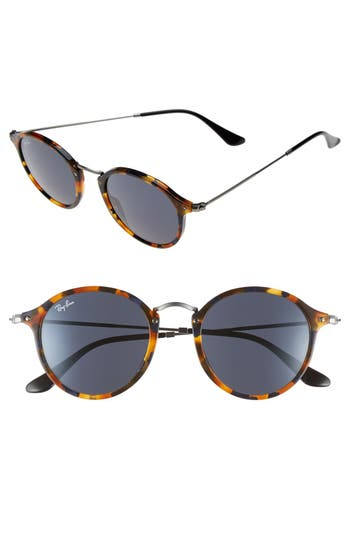 Ray-Ban 4m Retro Sunglasses - Spotted Blue Havana/ Grey