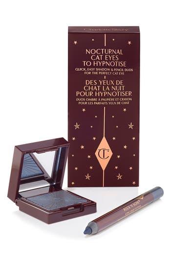 Charlotte Tilbury 'Nocturnal Cat Eyes To Hypnotise' Eyeshadow & Eye Pencil Duo - Midnight Seduction