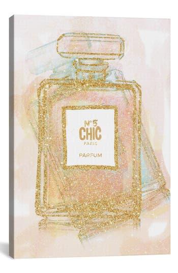Icanvas 'Chic Bottle I' Giclée Print Canvas Art