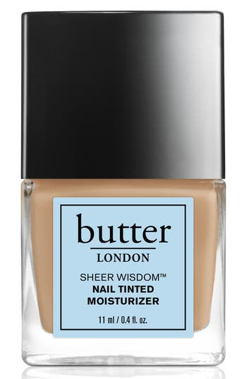 Butter London 'Sheer Wisdom(TM)' Nail Tinted Moisturizer - Neutral