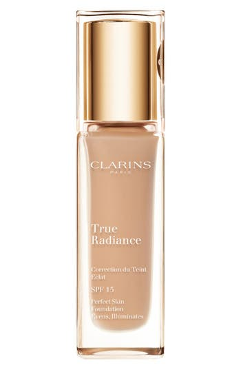 Clarins 'True Radiance' Spf 15 Perfect Skin Foundation - Honey