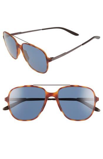 Carrera Eyewear 55Mm Aviator Sunglasses - Light Havana