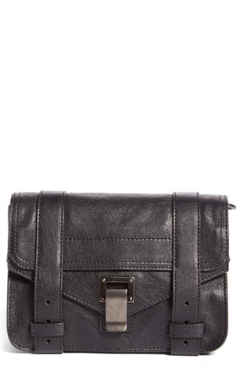 Proenza Schouler 'Mini Ps1' Lambskin Leather Crossbody Bag -