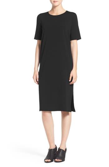 Eileen Fisher Midi Shift Dress