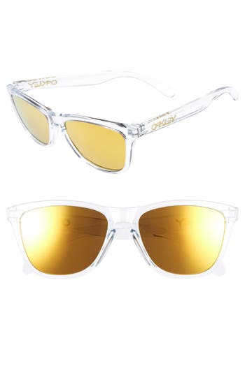 Oakley Frogskins 55Mm Sunglasses - Yellow