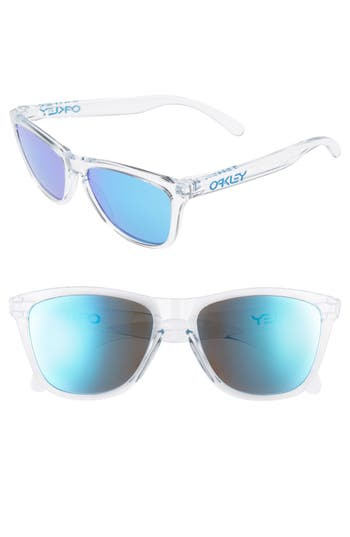 Oakley Frogskins 55Mm Sunglasses - Blue