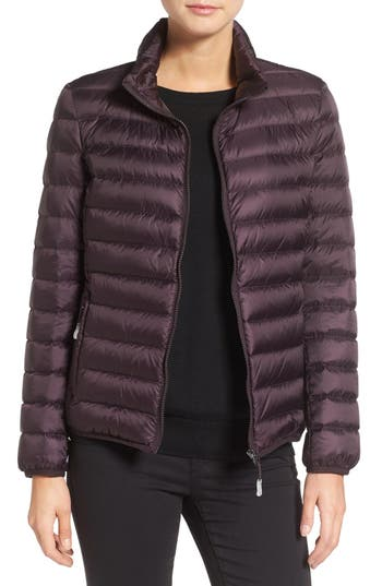 Tumi Pax On The Go Packable Quilted Jacket, Purple
