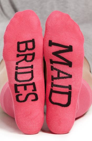 Women's Sockart 'Brides Maid' Crew Socks