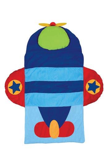 Stephen Joseph Portable Nap Mat, Pillow & Blanket, Size One Size - Blue
