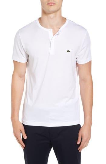 Lacoste Henley T-Shirt, White