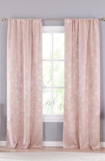 Lala + Bash Clarice Blackout Window Panels, Size One Size - Pink