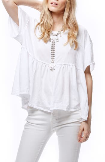 Free People Odyssey Tee, White