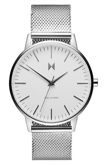 Women's Mvmt Boulevard Mesh Strap Watch, 38Mm