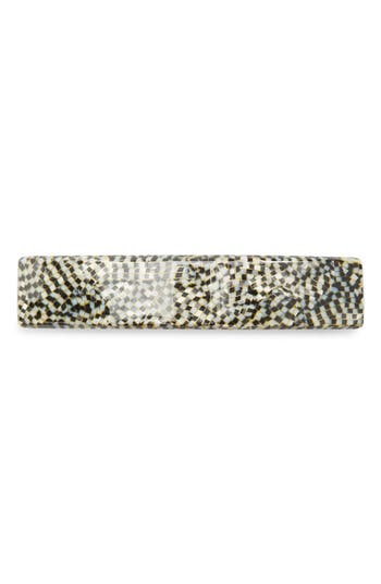 France Luxe Rectangle Barrette at NORDSTROM.com