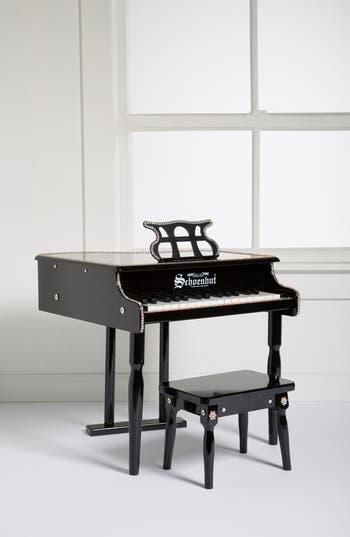 Girls Glitzy Bella Miniature Baby Grand Piano  Bench