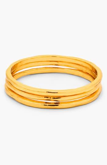 Women's Gorjana 'G Ring' Midi Rings (Set Of 3)