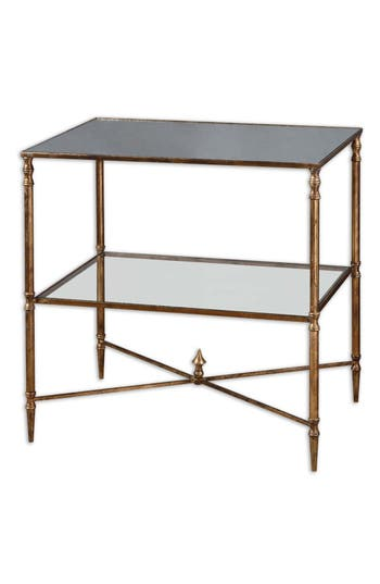 Uttermost Henzler Mirrored Accent Table