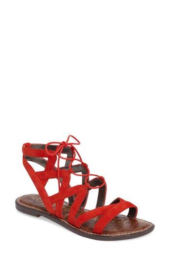 Women's Sam Edelman Gemma Lace-Up Sandal