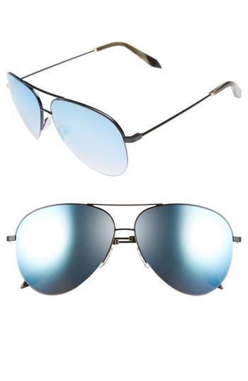 Victoria Beckham 62Mm Aviator Sunglasses -