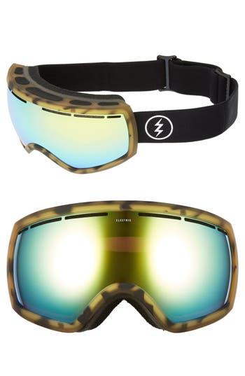 Women's Electric Eg 2.5 215Mm Snow Goggles - Tortoise/ Brose/ Gold Chrome