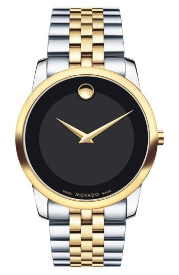 Movado Museum Bracelet Watch, 40Mm