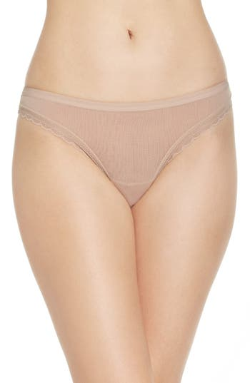 On Gossamer Hip G Thong, Ivory